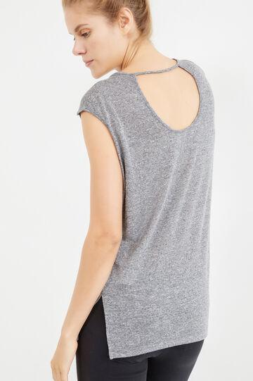 OVS Active Sport Training T-shirt, Grey, hi-res