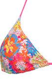 Triangolo stretch con fantasia, Multicolor, hi-res