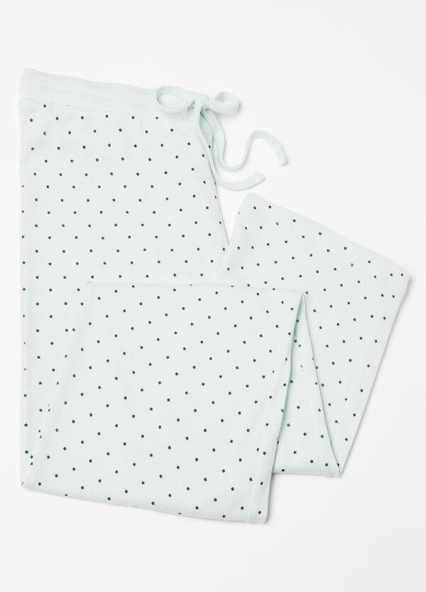 100% cotton printed pyjama trousers | OVS