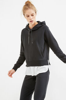 OVS Active Sport Training sweatshirt, Black, hi-res