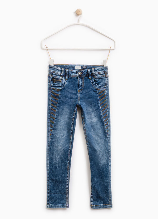 Jeans super skinny fit effetto used | OVS