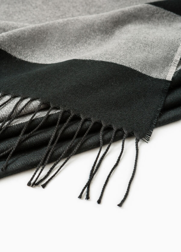 Bufanda de rayas con flecos   OVS