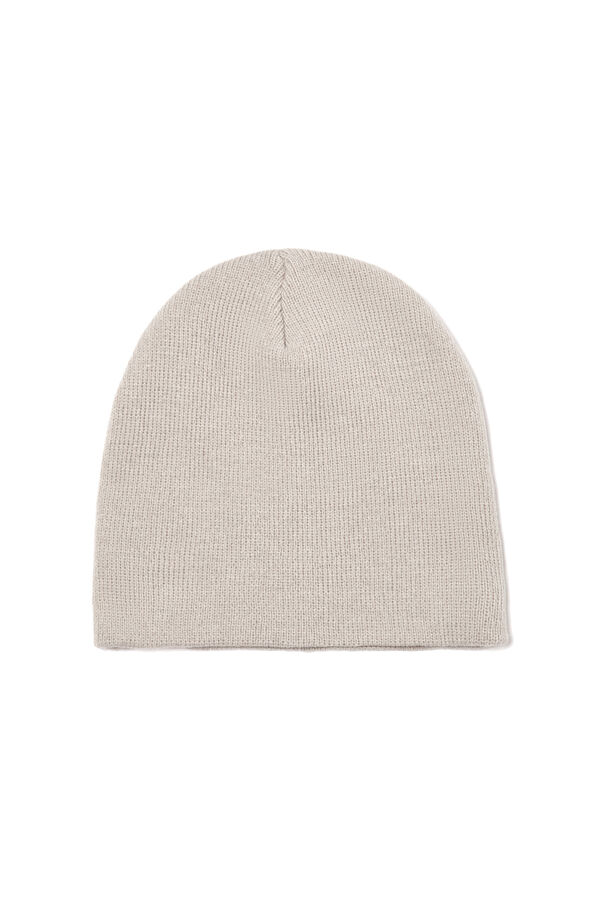 Plain knitted hat | OVS