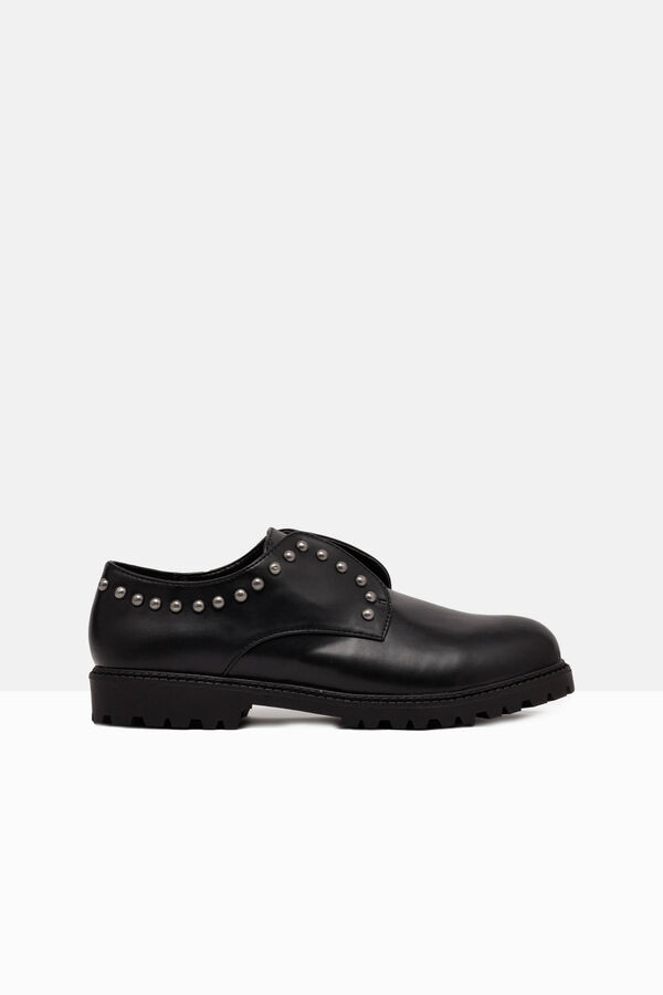Studded leather look shoes | OVS