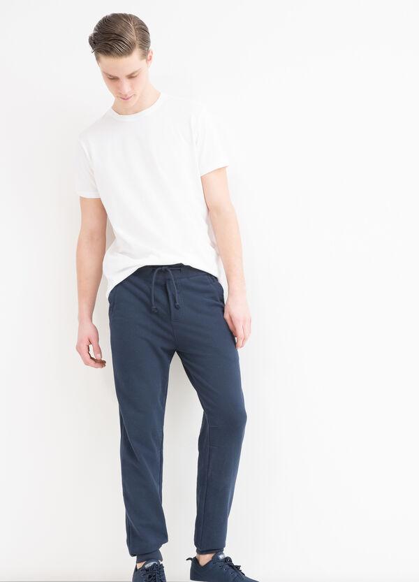 Pantaloni tuta misto cotone | OVS