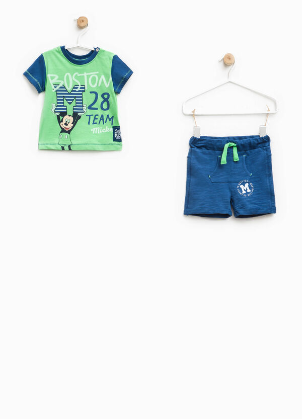 100% cotton Mickey Mouse outfit | OVS