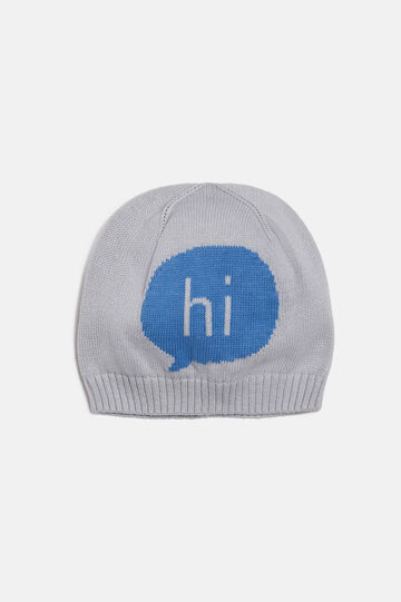 Knitted Cap, Light Blue, hi-res