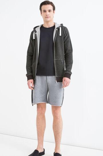 100% cotton sweatshirt with lurex