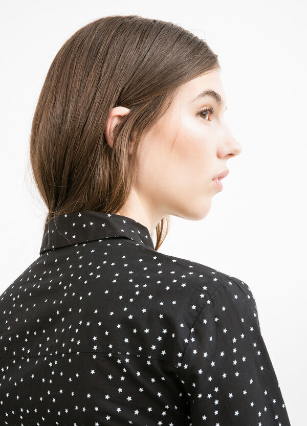 Patterned shirt in 100% cotton | OVS