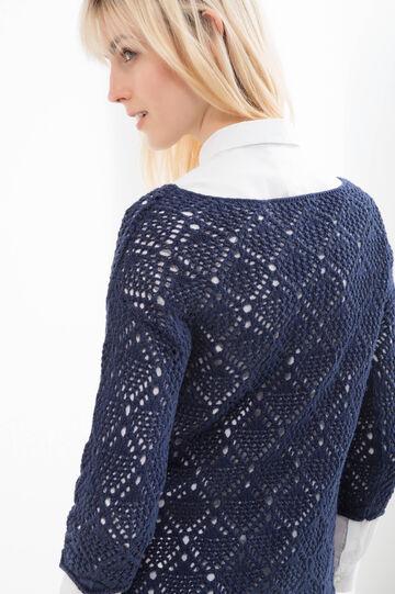Solid colour 100% cotton pullover
