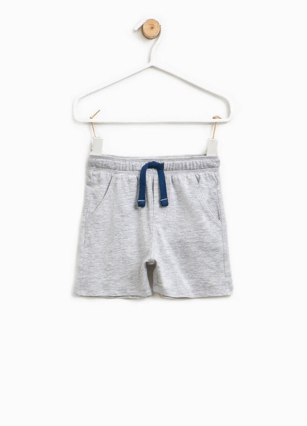 Shorts with printed lettering   OVS