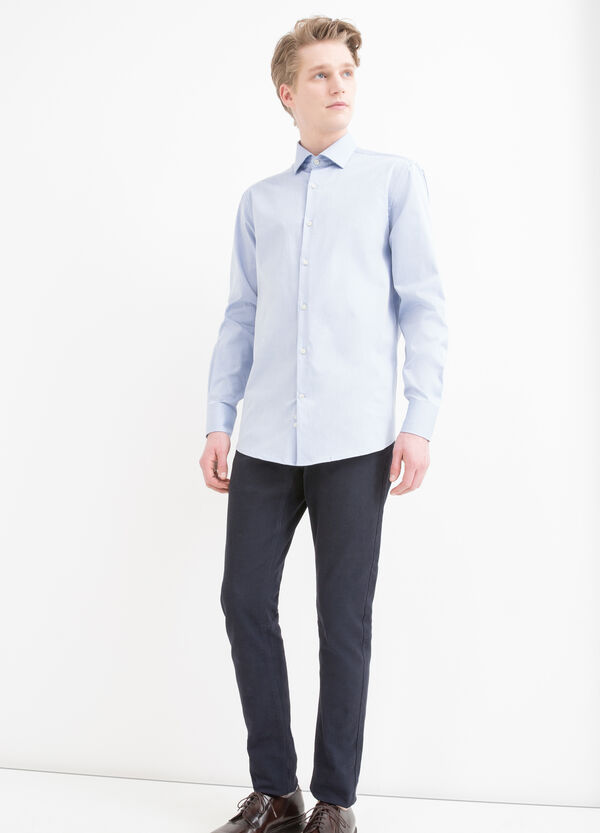 Regular fit shirt in 100% cotton | OVS