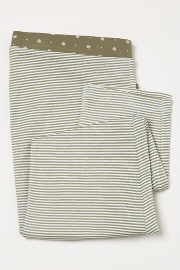 Striped pyjama trousers in 100% cotton