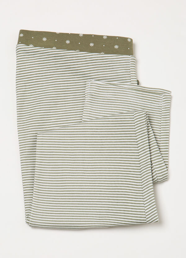 Striped pyjama trousers in 100% cotton | OVS