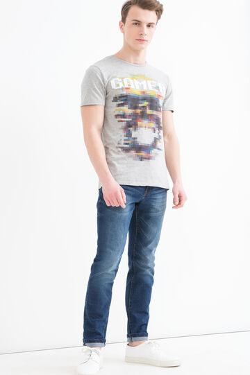 T-shirt puro cotone girocollo