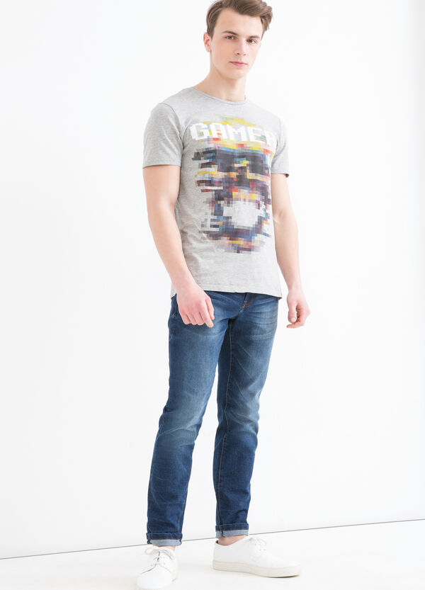 T-shirt puro cotone girocollo | OVS