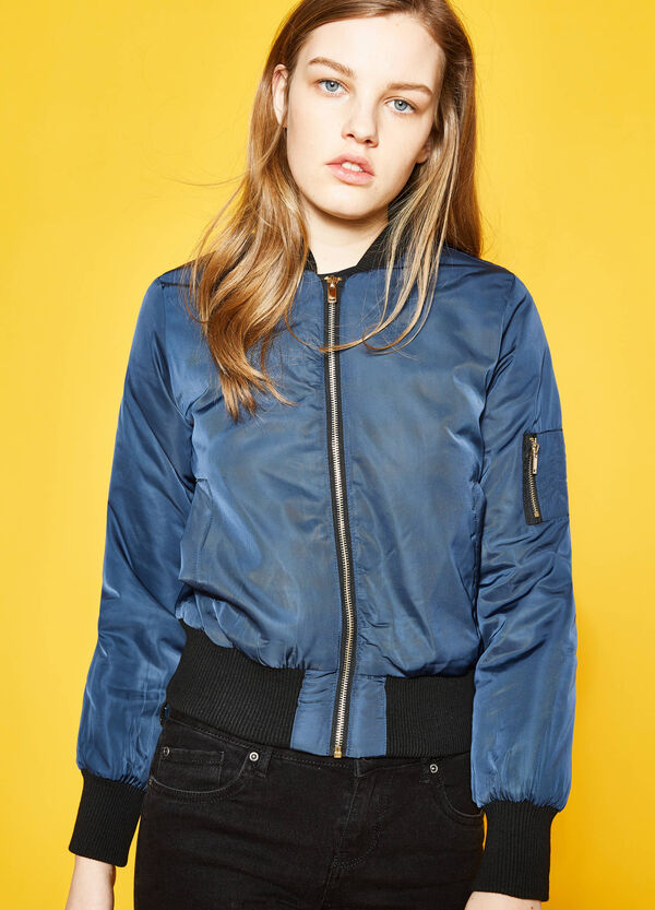 Bomber jacket with pocket on the sleeve | OVS