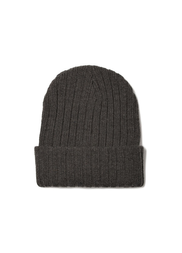 Ribbed knitted beanie cap | OVS