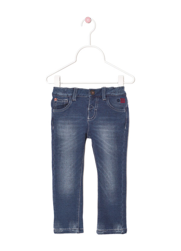 Regular-fit, stretch, faded jeans | OVS