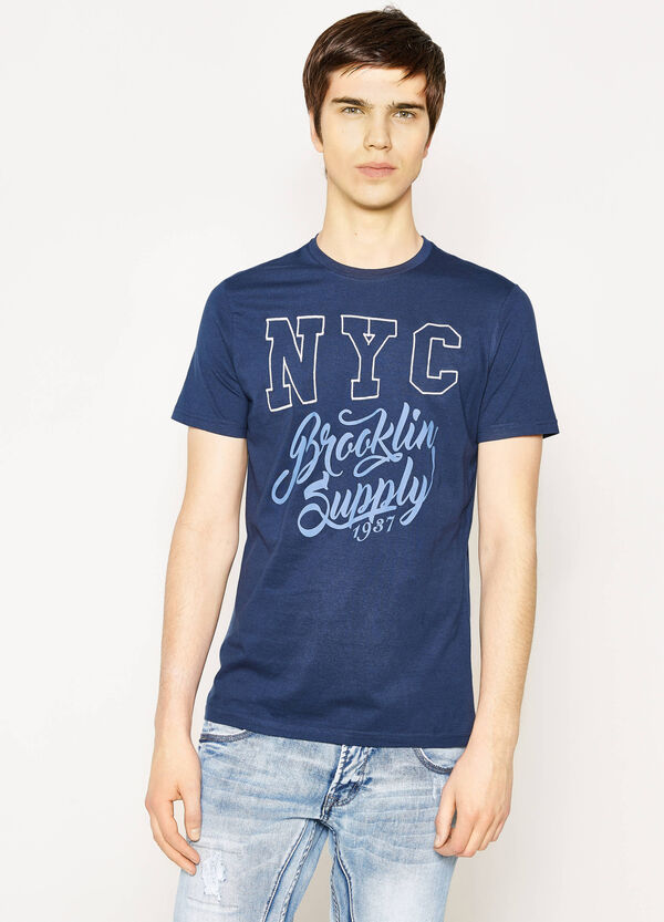 G&H printed T-shirt in 100% cotton | OVS