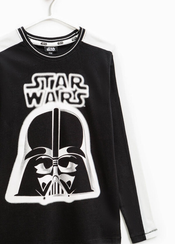 Star Wars print cotton T-shirt | OVS