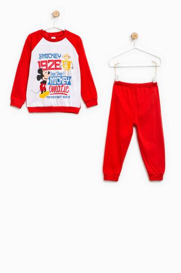 Mickey Mouse Robot print pyjamas