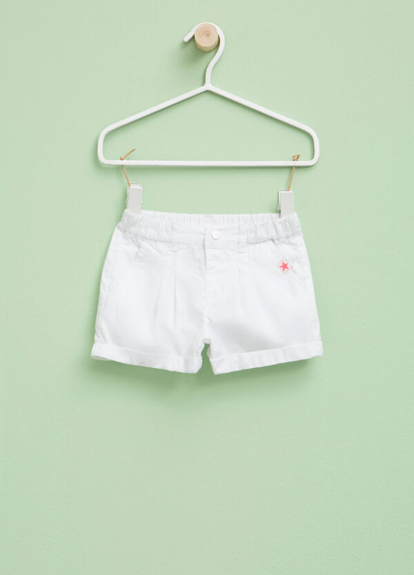 Pleated shorts with turn-ups | OVS