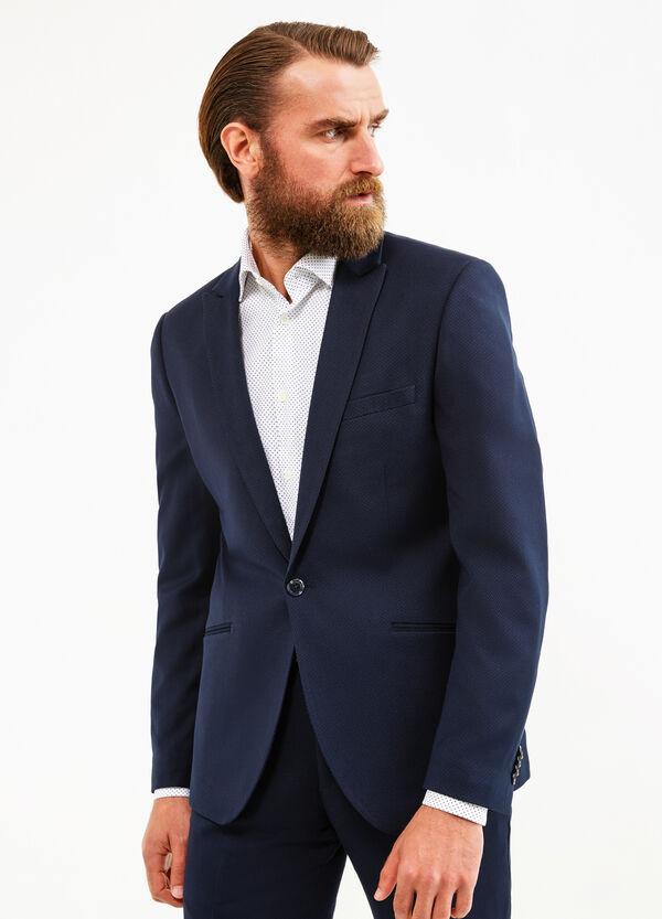 Custom-fit suit in viscose blend | OVS