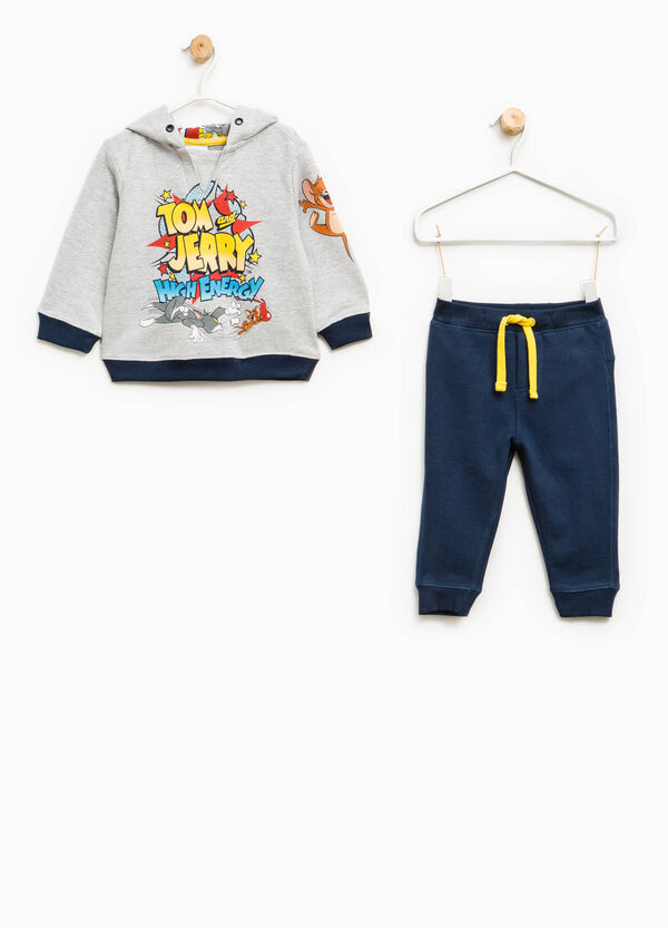Cotton tracksuit with Tom and Jerry print | OVS