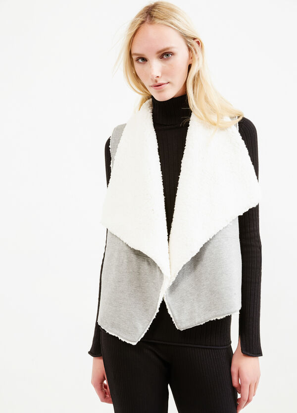 Gilet in cotone double face | OVS