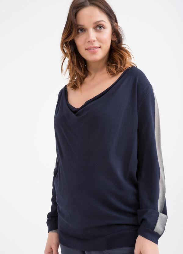 Curvy stretch viscose pullover | OVS