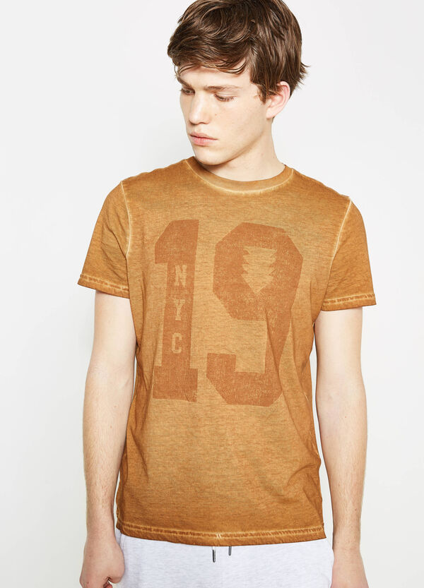 T-shirt cuciture effetto delavato G&H | OVS