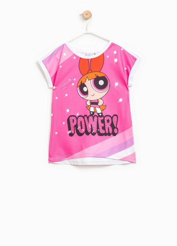 T-shirt with The Powerpuff Girls maxi print | OVS