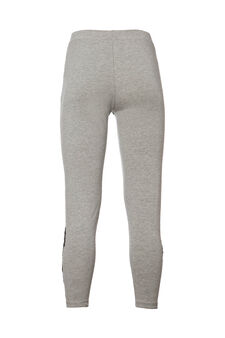 Smart Basic leggings with lace, Grey, hi-res