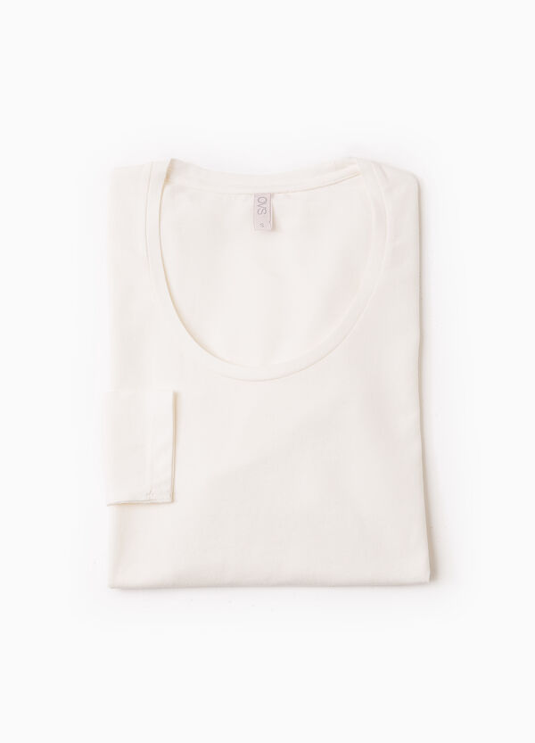 Camiseta interior elástica de manga larga | OVS