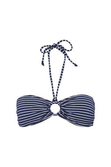 Fascia stretch con anello, Bianco/Blu, hi-res