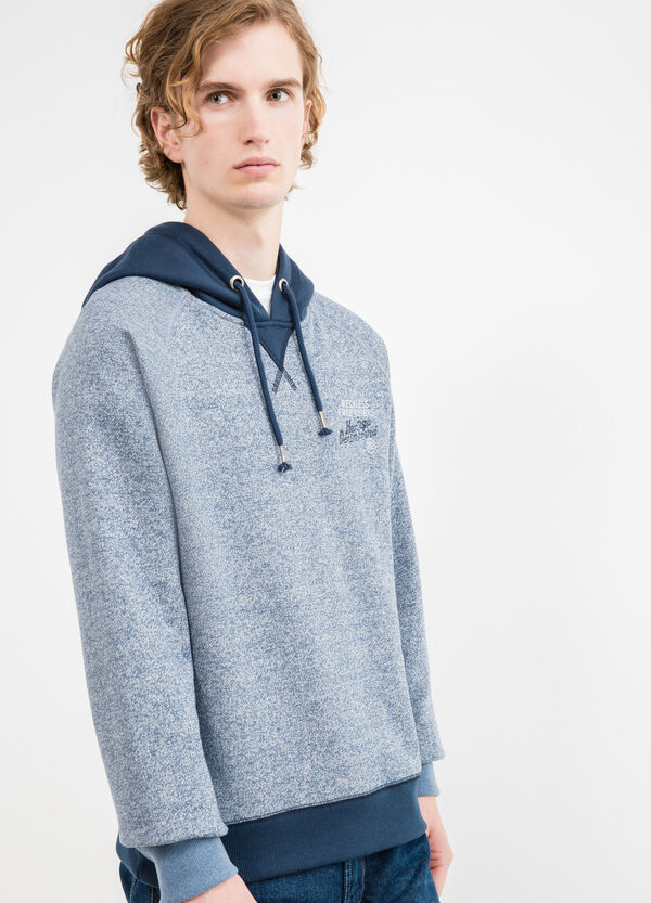 G&H cotton blend sweatshirt with V insert | OVS
