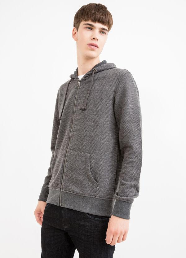 Cotton blend hoodie | OVS