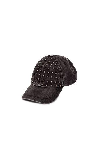 Cappello con borchie, Black, hi-res