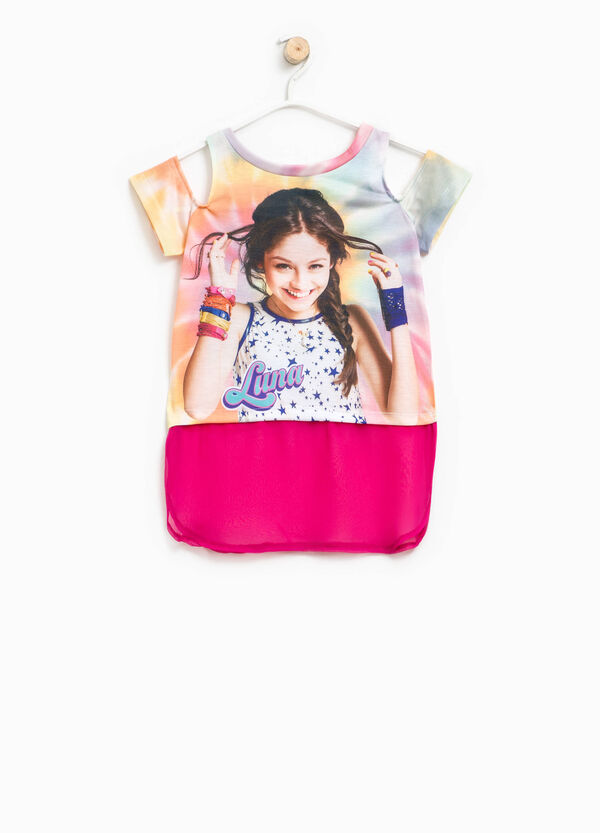 T-shirt with Soy Luna print | OVS