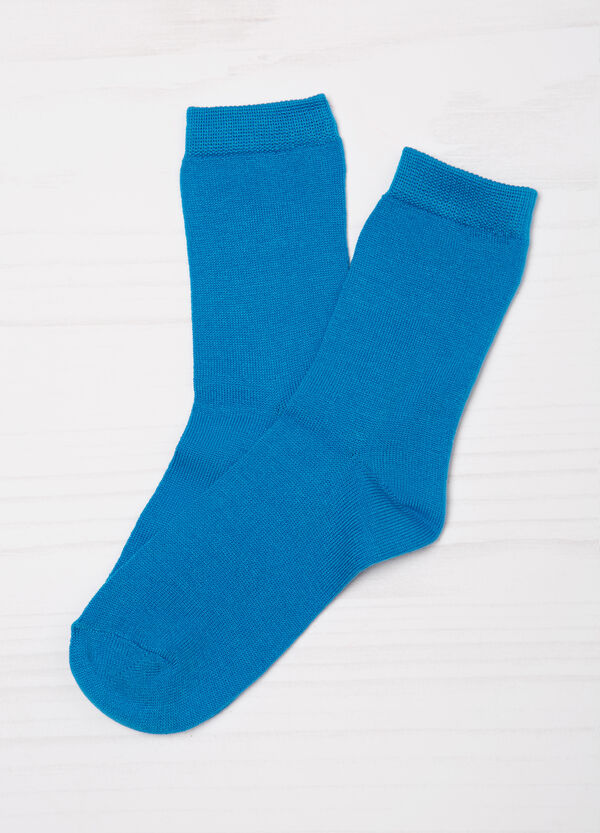 Three-pairs solid colour socks. | OVS
