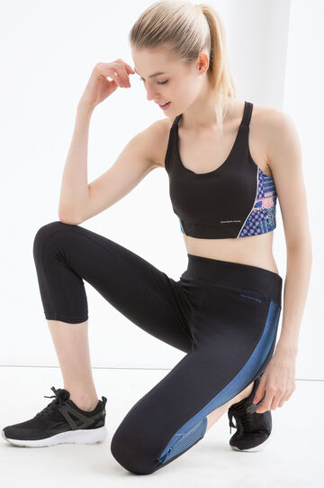Stretch cotton gym leggings