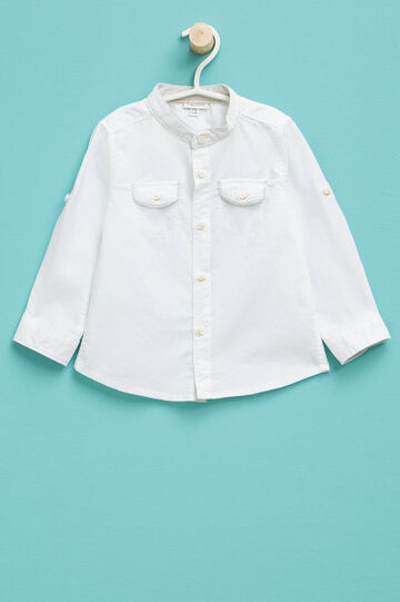 100% cotton shirt with small pockets