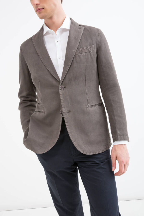 Rumford cotton and linen jacket | OVS