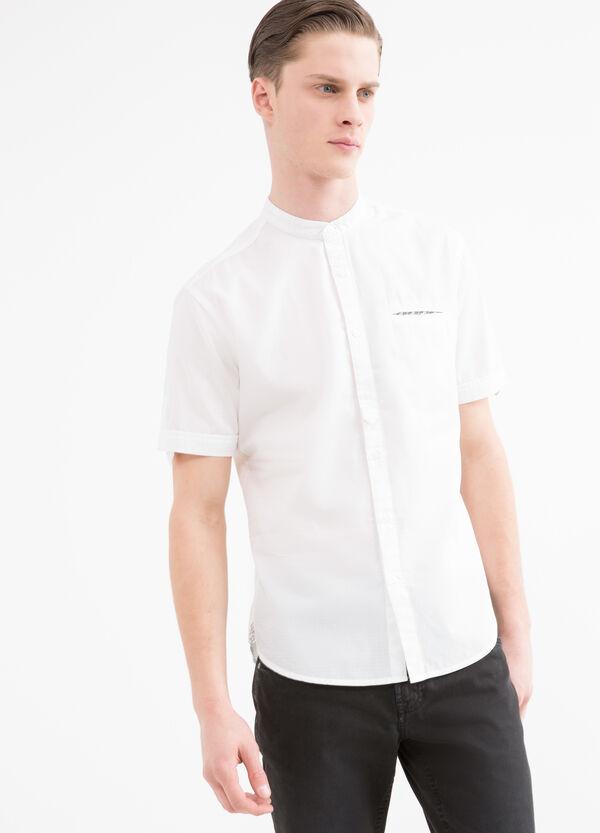 Camicia puro cotone collo coreana   OVS