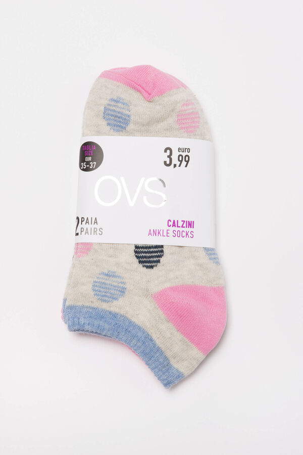 Two-pack short stretch socks | OVS
