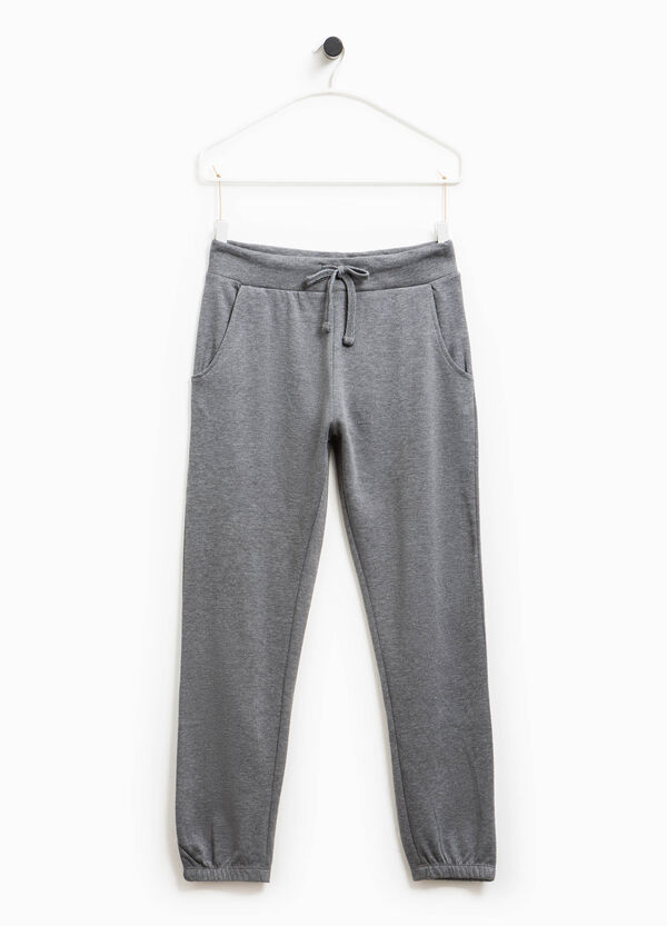Pantaloni tuta in cotone Smart Basic | OVS