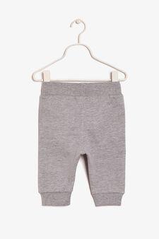 Pantaloni lunghi, Grigio melange, hi-res