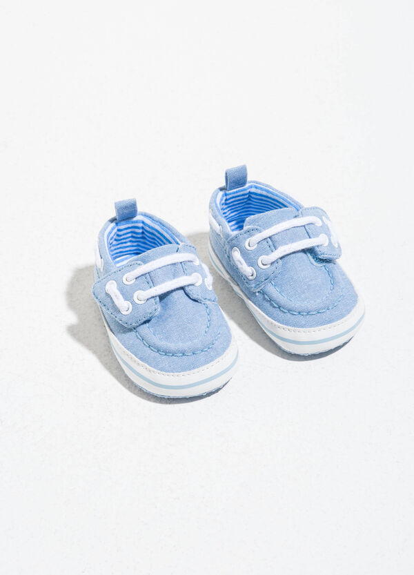Sneakers with striped soles and laces | OVS
