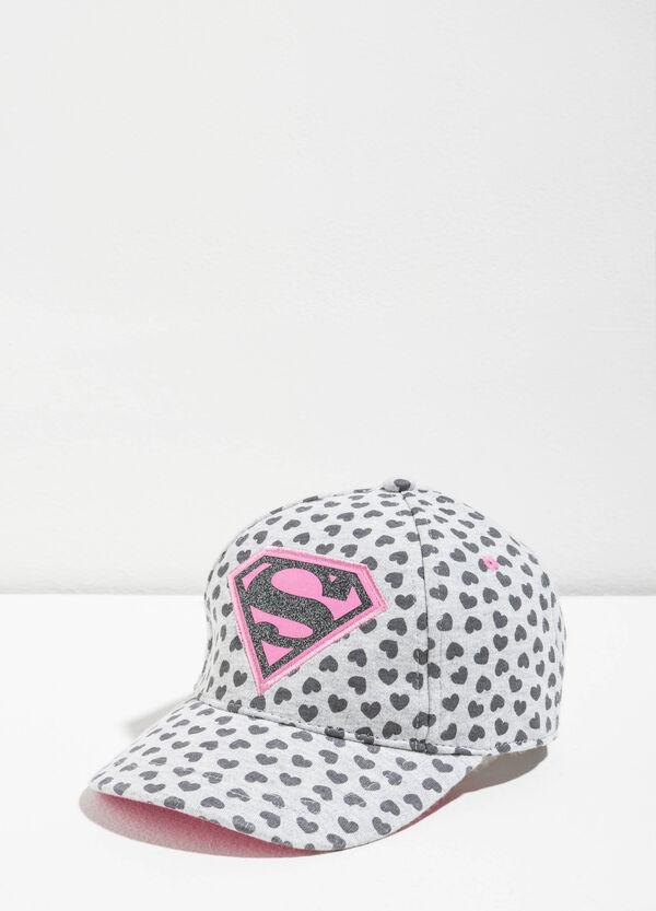 Superman baseball cap with hearts | OVS